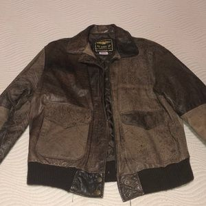 Other - U.S. MADE CO. Leather bomber jacket